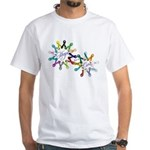Hope For A Cure White T-Shirt