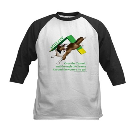 Around the Course We Go! Kids Baseball Jersey