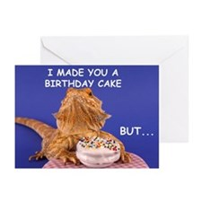 Bearded Dragons Greeting Cards