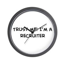 Trust Me: Recruiter Wall Clock