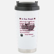 A Free People Travel Mug
