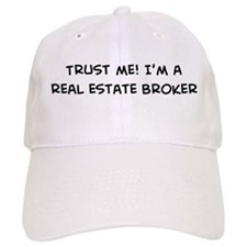 Trust Me: Real Estate Broker Baseball Cap