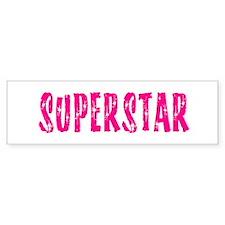 Superstar Bumpersticker