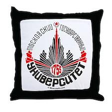 Moscow U Throw Pillow