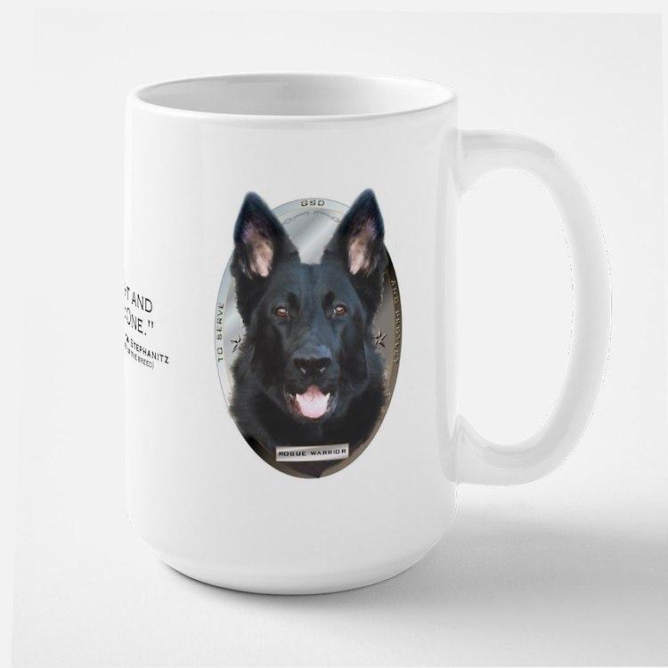 GSD Large 2-sided Mug