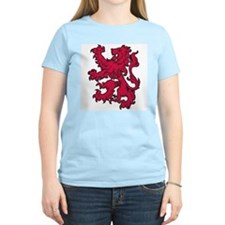 Aslan Is On The Move Women's Pink T-Shirt