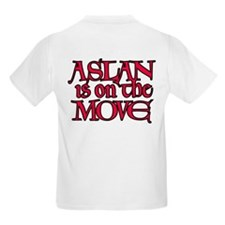 Aslan Is On The Move Kids T-Shirt