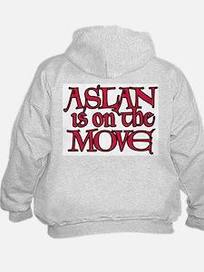 Aslan Is On The Move Hoody