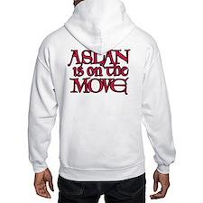 Aslan Is On The Move Hoodie
