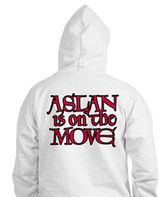 Aslan Is On The Move