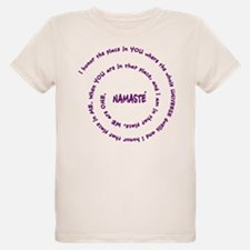 Namaste Meaning in Sacred Pu T-Shirt