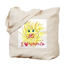 I Love Narnia Tote Bag