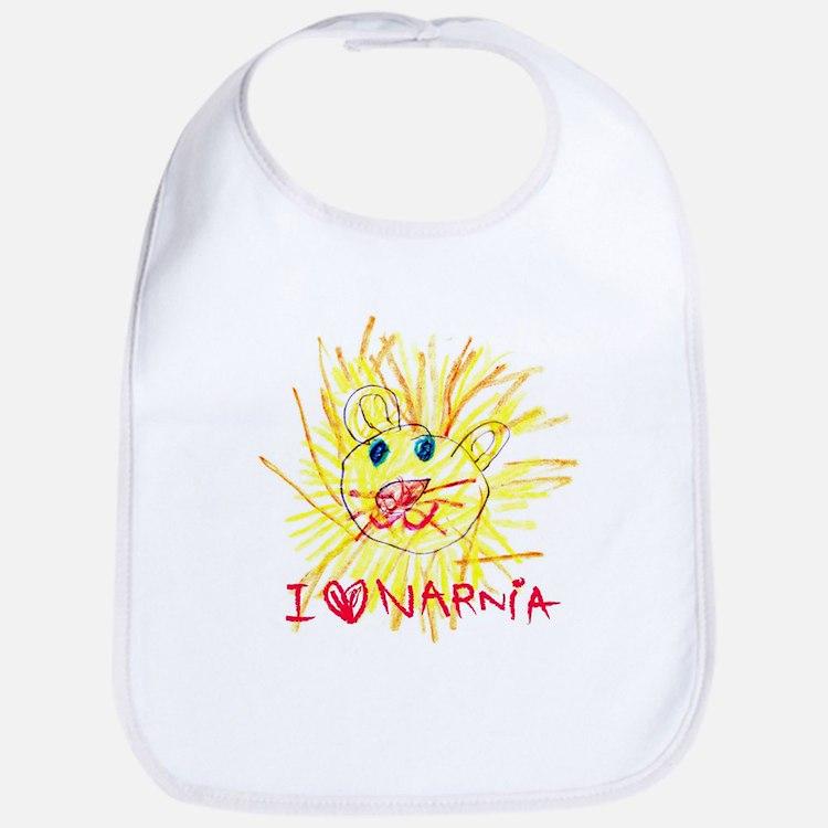 I Love Narnia Bib
