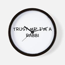 Trust Me: Rabbi Wall Clock