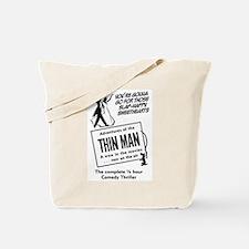 The Thin Man Tote Bag