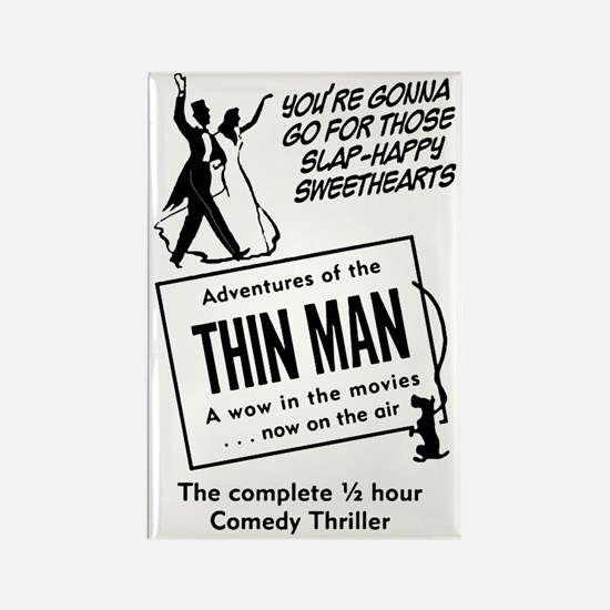 The Thin Man Rectangle Magnet