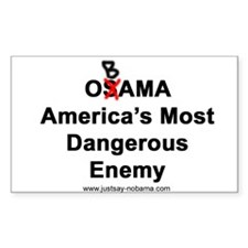 OBAMA, America's Most Dangerous Enemy, 3x5