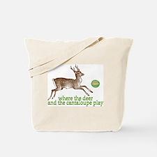 Cute Montana humor Tote Bag