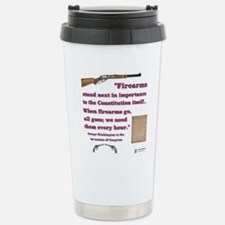Firearms and the Constitution Travel Mug