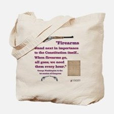 Firearms and the Constitution Tote Bag