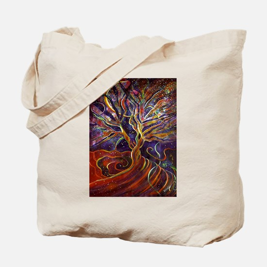 Aura Energy Tree Tote Bag