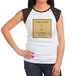 Make coffee, not war! Women's Cap Sleeve T-Shirt
