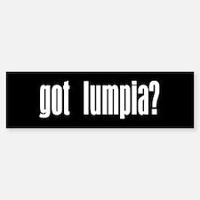 Got Lumpia? Gift Bumper Bumper Bumper Sticker