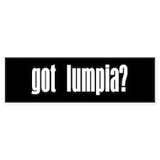 Got Lumpia? Gift Bumper Car Sticker