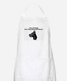 Only sleep with Danes BBQ Apron
