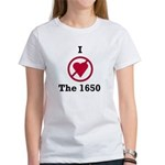 I hate the 1650 Women's T-Shirt
