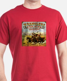 Wranglers For Hire T-Shirt 9 Colors