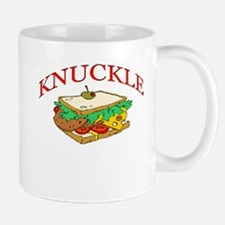 Funny Knuckle Sandwich design Mug