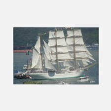 Tall Ships Rectangle Magnet