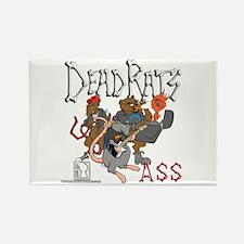 Dead Rats ASS Rectangle Magnet