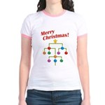 Merry Christmas! Jr. Ringer T-Shirt