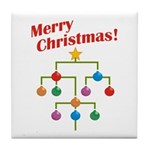 Merry Christmas! Tile Coaster