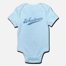 Whatever (blue) Infant Bodysuit