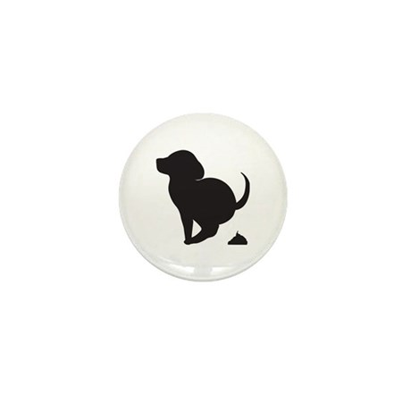 Doggy Accident Mini Button (100 pack)