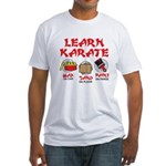 Learn Karate Fitted T-Shirt