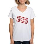 Junkie (DS) Women's V-Neck T-Shirt