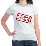 Junkie (DS) Jr. Ringer T-Shirt