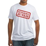 Junkie (DS) Fitted T-Shirt