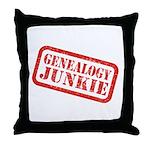 Junkie (DS) Throw Pillow