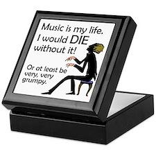 Music Is My Life Jewelry Box