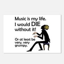Music Is My Life Postcards (Package of 8)