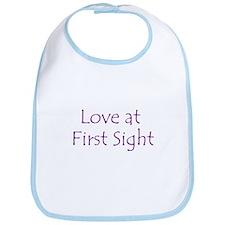 Love at First Sight Bib