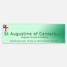 St. Augustine of Canterbury Bumper Bumper Bumper Sticker