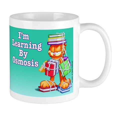 Garfield Learning by Osmosis Mug