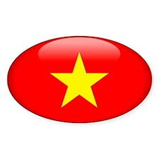 Viet Nam Oval Decal