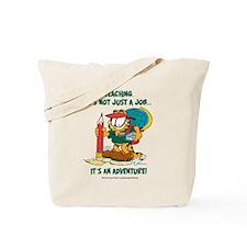 It's an Adventure Garfield Tote Bag